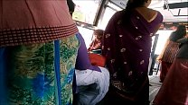Big Back Aunty in bus more visit indianvoyeur.ml Image