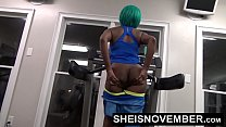 17046 Msnovember Fucked By Stranger In Public Gym Rough Doggystyle Pounding & Blowjob preview