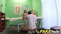 Fake Hospital Cock hungry oriental French chick gets deep pussy fucking缩略图