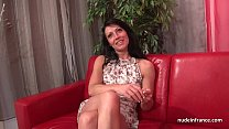 Sublime busty french milf deep anal fucked and ...