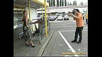 German lady is picked up at store Vorschaubild