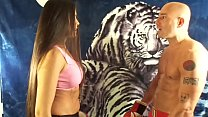 KING of INTERGENDER SPORTS SILVANA VS MAN IN MIXED PUNCHING MATCH UIWP ENTERTAINMENT