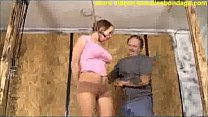 cute Lexi Laine breast bondage image