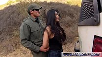 Police officer on duty Stunning Mexican floozie Alejandra Leon video