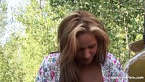 Busty chick pleasing with her big tits passionately.mp4 Thumbnail
