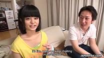Japanese pornstar, Shimizaki Rika visits her lo...