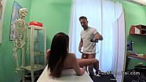 [slave kirsten] doctor wanking cock on busty patient thumbnail