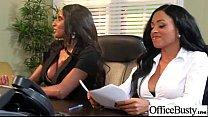 Superb Woker Girl (anya diamond jade jasmine) With Big Tits Get Hard Sex In Office clip-03 preview image