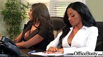 Superb Woker Girl (anya diamond jade jasmine) With Big Tits Get Hard Sex In Office clip-03