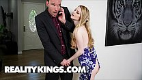 Hot Big Tits Bunny Colby Seduces (Alex Legend) Cock For A Quick One - Reality Kings