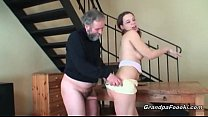 Grandpa fucks amazing babe - Download mp4 XXX porn videos