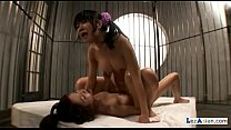 2 Asian Girls Lotion On Bodies Squirting While ... thumb