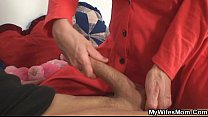 Mother in law fucks him and his wife comes in Vorschaubild