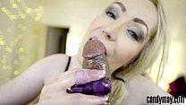 Candy May - Gives tgue job to huge BBC - 9Club.Top