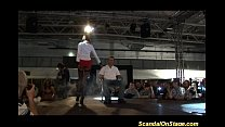 Three babes scansl on stage thumbnail