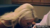 PORNFIDELITY Bridgette B Interrogates a Hard Cock Vorschaubild
