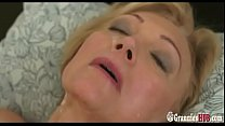 Young Stud Gently Satisfies Lustful Granny Blonde pornhub video