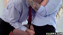 Busty milf Ryan Conner hot anal office fuck thumbnail