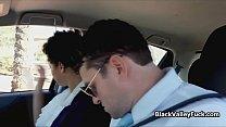 Black coed sucks driving instructors fat cock Preview
