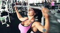 Kaitlyn (Celeste Bonin) Workout Video