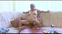 Mature whore fucks younger dude preview image