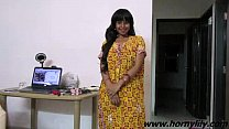 Indian Babe Lil y Sexy Interview w