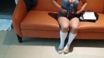 estudiante se masturba con su uniforme  by weedhotsama