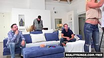 RealityKings - Sneaky Sex - Brad Knight Chloe Amour Monique Alexander Sne - Game Night image