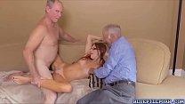 Sexy babe Zara Ryan caressing large meaty dick