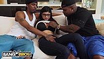 BANGBROS - Mia Khalifa Shares Her Hummus With Rico Strong & Charlie Mac preview image