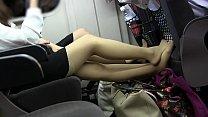 asian girl pantyhose toe