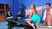 Hardcore Sex In Office With Big Round Tits Slut Girl (Juelz Ventura) clip-16 preview image