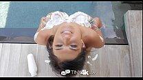 Hot and flexible brunette girl Leah Gotti enjoys fucking - Tiny4K thumbnail