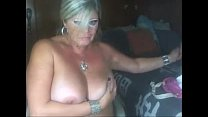 Blonde Mature Playing on Webcam - See more at f... Thumbnail