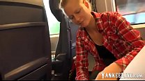 german amateur blonde public blowjob in train Vorschaubild