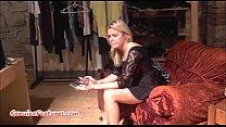 boudi panty - Casting with fresh 18yo blondie thumbnail