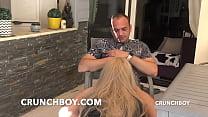 Crossdressed Boy Slut Fucked Bareback For CRUNC