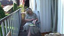 Her boyfriend cheating with blonde motherinlaw