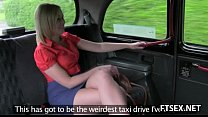 Blonde Babe Gets Fisted In The Taxi
