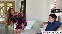 Becoming A Man With Stunning MILF's Thumb