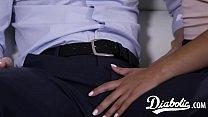 Asian vixen Kendra Spade slobbers cock before cowgirl
