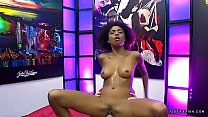 Cums in mouth and facials on ebony luna corazon