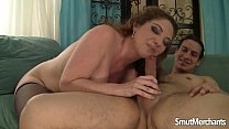 Sexy MILF fucked by younger guy thumbnail