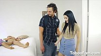 Karly Baker Giving Blowjob and Boned by Large Dick Near Stepmom Vorschaubild