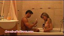 long nails porn - foot job and bathroom fun thumbnail