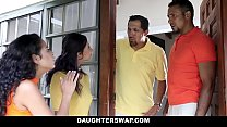 Free download video bokep DaughterSwap - Creepy Dads Film Daughters Porn Audition