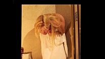 Naked Blonde Girl Puke Vomit Puking Vomiting Gagging and Barf