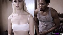 Blind teenager Chloe Cherry got moved to their new house and saw by her perverted neighbor Ricky Johnson.He took advantage and devirginized her pussy. thumbnail