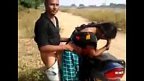 desi couple having quickie by the road while friend films