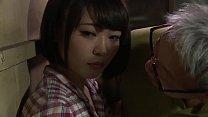 Boneka cantik Jepang dihancurkan oleh ayah mertua porn image